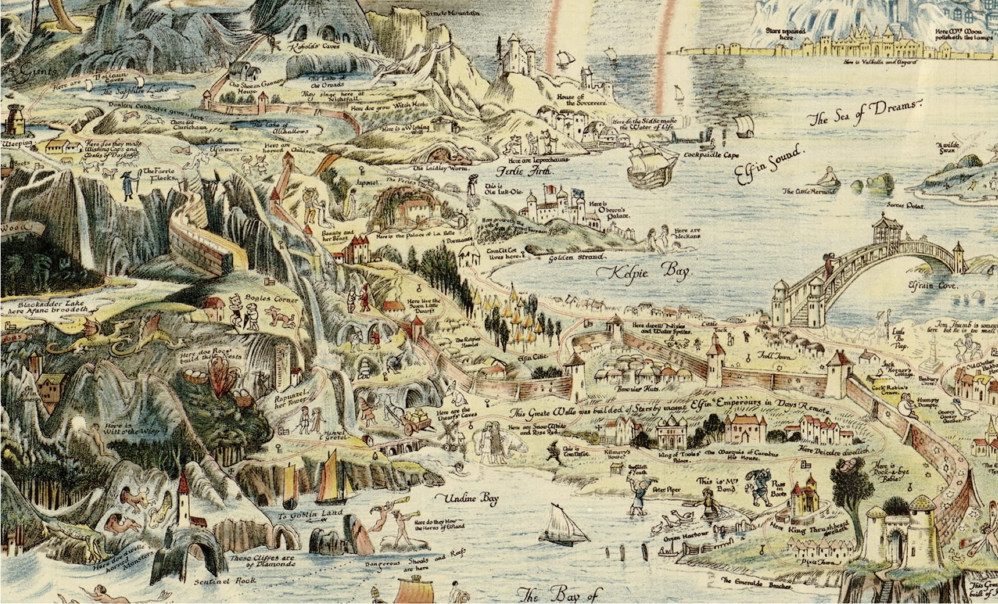 In the Beginning Was the Word: How Medieval Text became Fantasy Maps